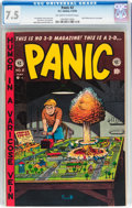 Golden Age (1938-1955):Humor, Panic #2 (EC, 1954) CGC VF- 7.5 Off-white to white pages....