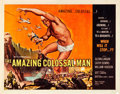 """Movie Posters:Science Fiction, The Amazing Colossal Man (American International, 1957). Half Sheet (22"""" X 28"""").. ..."""