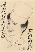 Fine Art - Work on Paper:Drawing, NORMAN ROCKWELL (American, 1894-1978). Chef, circa 1956.Pencil and ink on board. 10 x 8 inches (25.4 x 20.3 cm). Initia...(Total: 2 Items)