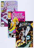 Modern Age (1980-Present):Superhero, Silver Surfer Group (Marvel, 1982-92) Condition: Average NM-....(Total: 61 Comic Books)