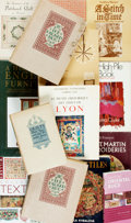 Books:Reference & Bibliography, Group of Fourteen Books on Antique Furniture and Textiles. Variouspublishers and dates. Various sizes, twelvemo to large qu...(Total: 14 Items)