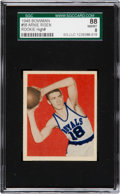 Basketball Cards:Singles (Pre-1970), 1948 Bowman Arnie Risen #58 SGC 88 NM/MT 8 - Pop One, OneHigher....