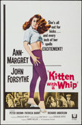 """Movie Posters:Bad Girl, Kitten with a Whip (Universal, 1964). One Sheet (27"""" X 41"""") &Lobby Cards (6) (11"""" X 14""""). Bad Girl.. ... (Total: 7 Items)"""