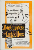 """Movie Posters:Comedy, The Ladykillers (Continental, 1956). One Sheet (27"""" X 41"""") &Uncut Pressbook (13.5"""" X 20.5""""). Comedy.. ... (Total: 2 Items)"""