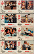"Movie Posters:Sports, Winning (Universal, 1969). Lobby Card Set of 8 (11"" X 14""). Sports.. ... (Total: 8 Items)"