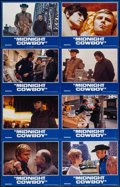 "Movie Posters:Academy Award Winners, Midnight Cowboy (United Artists, R-1981). International Uncut LobbyCard Set of 8 (28"" X 44""). Academy Award Winners.. ..."