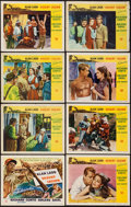 "Movie Posters:Adventure, Desert Legion (Universal International, 1953). Lobby Card Set of 8(11"" X 14""). Adventure.. ... (Total: 8 Items)"