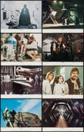"Movie Posters:Science Fiction, Star Wars (20th Century Fox, R-1978). Lobby Card Set of 8 (11"" X14""). Science Fiction.. ... (Total: 8 Items)"