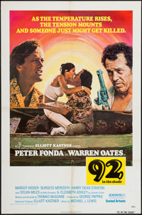 """92 in the Shade & Others Lot (United Artists, 1975). One Sheets (4) (27"""" X 41""""). Drama. ... (Total: 4 Item..."""