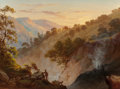 Fine Art - Painting, American:Antique  (Pre 1900), THOMAS HILL (American, 1829-1908). The Geysers, Sonoma,California. Oil on canvas. 18 x 24 inches (45.7 x 61.0 cm).Sign...