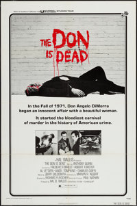 """The Don is Dead & Others Lot (Universal, 1973). One Sheets (5) (27"""" X 41""""). Crime. ... (Total: 5 Items..."""