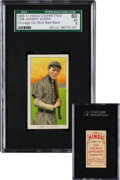 Baseball Cards:Singles (Pre-1930), 1909-11 T206 Hindu (Red) Johnny Evers, Chicago Jersey SGC 60 EX 5 -Highest Confirmed Example! ...