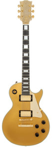 Musical Instruments:Electric Guitars, 2007 Gibson 50th Anniversary Les Paul Gold Solid Body ElectricGuitar, Serial # 57C 077....