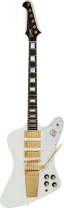 Musical Instruments:Electric Guitars, 2007 Gibson Firebird VII White Solid Body Electric Guitar, Serial # 024770537....