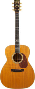 Musical Instruments:Acoustic Guitars, 1978 Martin M-38 Natural Acoustic Guitar, Serial # 401659....
