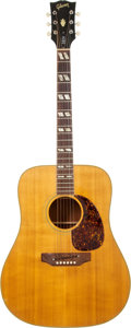 Musical Instruments:Acoustic Guitars, Circa 1969 Gibson SJN Natural Acoustic Guitar, Serial # 613460....