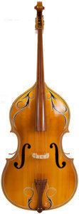 Musical Instruments:Electric Guitars, 1999 Englehardt M1 Blonde 3/4 Upright Bass, Serial # 76460....