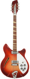 Musical Instruments:Electric Guitars, 1966 Rickenbacker 360/12 Fireglo Semi-Hollow Body Electric Guitar, Serial # FA116....