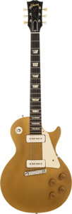Musical Instruments:Electric Guitars, 1954 Gibson Les Paul Standard Gold Solid Body Electric Guitar,Serial # 4 1834....