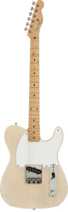 Musical Instruments:Electric Guitars, 1956 Fender Esquire Blonde Solid Body Electric Guitar, Serial #16186....