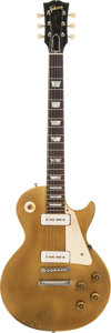 Musical Instruments:Electric Guitars, 1956 Gibson Les Paul Standard Gold Solid Body Electric Guitar,Serial # 6 4464....