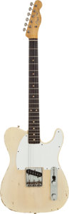 Musical Instruments:Electric Guitars, 1962 Fender Esquire Blonde Solid Body Electric Guitar, Serial #82992....