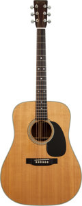 Musical Instruments:Acoustic Guitars, 1974 Martin D-28 Natural Acoustic Guitar, Serial # 340896....