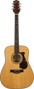 Musical Instruments:Acoustic Guitars, 1974 Charles Hoffman Natural Acoustic Guitar, Serial # 039....