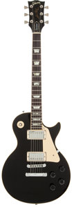 Musical Instruments:Electric Guitars, 1978 Gibson Les Paul Standard Black Solid Body Electric Guitar, Serial # 70338518....