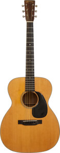 Musical Instruments:Acoustic Guitars, 1937 Martin 000-18 Natural Acoustic Guitar, Serial # 67531....