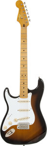 Musical Instruments:Electric Guitars, 2011 Fender Squire Vintage Vibe Left-Handed Stratocaster SunburstSolid Body Electric Guitar, Serial # CGS1110156....