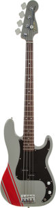 Musical Instruments:Bass Guitars, 2000's Fender Parts Precision Bass Grey Electric Bass Guitar....