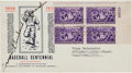 Autographs:Others, 1939 Grover Cleveland Alexander Signed Baseball Centennial First Day Cover....