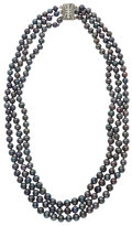 Estate Jewelry:Pearls, Black Cultured Pearl Necklace. ...