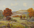 Texas:Early Texas Art - Impressionists, ROBERT WILLIAM WOOD (American 1889-1979). Autumn Landscape.Oil on canvas. 25in. x 30in.. Signed lower right. ...