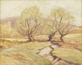 American:Impressionism, PAUL BERNARD KING (American 1867-1947). Old Willows inSpring. Oil on canvas. 16in. x 20in.. Signed lower right. ANew...