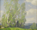 Paintings, CECIL CHICHESTER (American 1891-1963). Landscape, 1932. Oil on canvas. 20in. x 24in.. Signed and dated lower right. Pr...