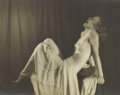 Photographs, ARTHUR SMITH GRAY (American 1884-1976) . Standing Nude and Laughing Nude, c. 1940 . Two vintage gelatin silver print... (Total: 2 Items)