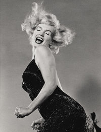 PHILIPPE HALSMAN (American 1906-1979) Portrait of Marilyn Monroe Photograph 12.75in. x 9.75in. Edition: 186/250 Ha