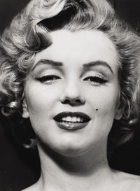 PHILIPPE HALSMAN (American 1906-1979) Portrait of Marilyn Monroe Photograph 12.5in. x 9.5in. Edition: 165/250 Hals