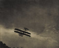 Photographs, ALFRED STIEGLITZ (American 1864-1946) . The Aeroplane, 1910 . Photogravure . 5.5in. x 6.75in. . Not signed. ... (Total: 1 Item Item)