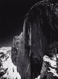 Photographs, ANSEL ADAMS (American 1902-1984) . Monolith, The Face of Half Dome, Yosemite National Park, California, 1927 . Silver ge... (Total: 1 Item Item)