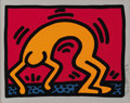 Post-War & Contemporary:Pop, KEITH HARING (American 1958-1990). Untitled (from Pop ShopII), 1988. Lithograph on paper. 12in. x 15in.. Signed,number...