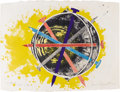 Post-War & Contemporary:Pop, JAMES ROSENQUIST (b. 1933). Echo Pale (from Mirrors of theMind), 1975. Lithograph on paper. 23.5in. x 21.5in.. Signedl...
