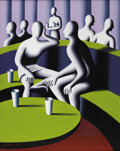 Post-War & Contemporary:Pop, MARK KOSTABI (American b. 1960). Snapshot, 1997. Oil oncanvas. 30in.x 27in.. Signed and dated lower left. Inscribed wit...