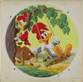 Illustration:Magazine, AMERICAN ILLUSTRATOR (20th Century) . Woody Woodpecker, 1977. Gouache on illustration board . 24.5in. x 24.5in. . Origi...(Total: 2 Items)
