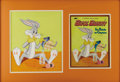 Illustration:Books, AMERICAN ILLUSTRATOR (20th Century) . Bugs Bunny, c. 1965 .Gouache on illustration board . 13in. x 11in.. Original co...