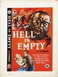 Illustration:Books, ENGLISH ILLUSTRATOR (20th Century) . Hell Is Empty, c. 1958. Gouache on illustration board . 21in. x 16in.. Original ...