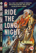 Illustration:Books, ENGLISH ILLUSTRATOR (20th Century) . Ride the Long Night, c.1961 . Gouache on illustration board . 19.5in. x 13.25in.. ...(Total: 2 Items)