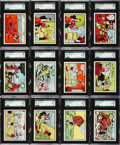 "Non-Sport Cards:Sets, 1959 Ad-Trix ""Popeye"" SGC Graded Complete Set (66). ..."